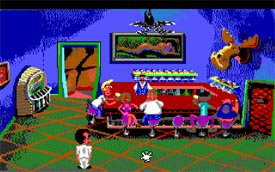 Leisure Suit Larry in Lefty's Bar