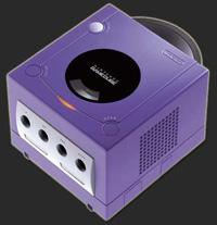 GameCube in classic purple