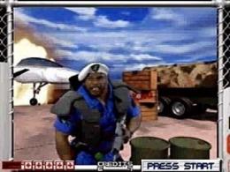 The original Area 51, as seen on the Sega Saturn
