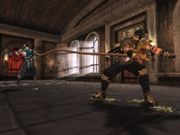 Scorpion's up to his same old tricks in Mortal Kombat: Deception.
