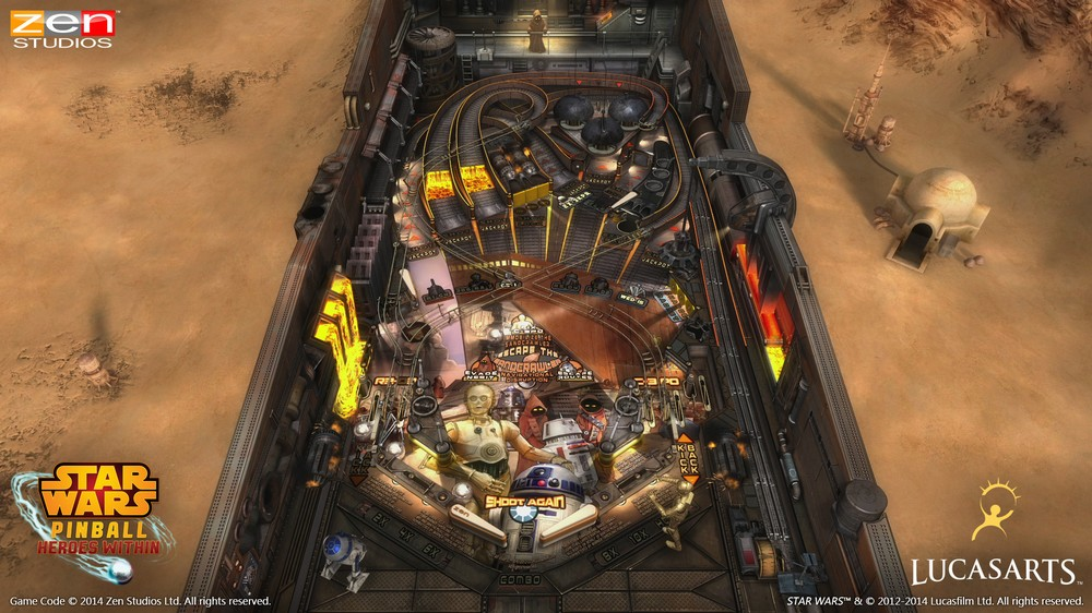 SWP Droids Playfield
