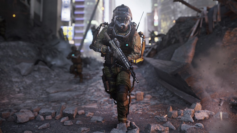 CoD AW_Induction_Vision Mode Active