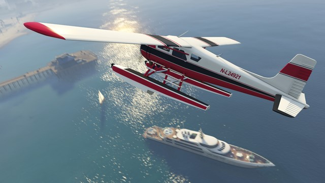 The Dodo seaplane: It may take a little firepower to get your hands on this highly versatile GTA classic.