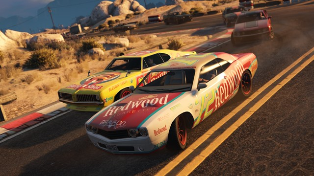 Finish first in the new Stock Car Races to earn new Muscle Cars.