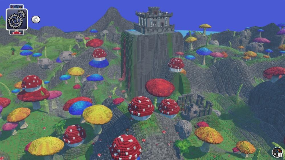 LEGO Worlds_mushroom_biome