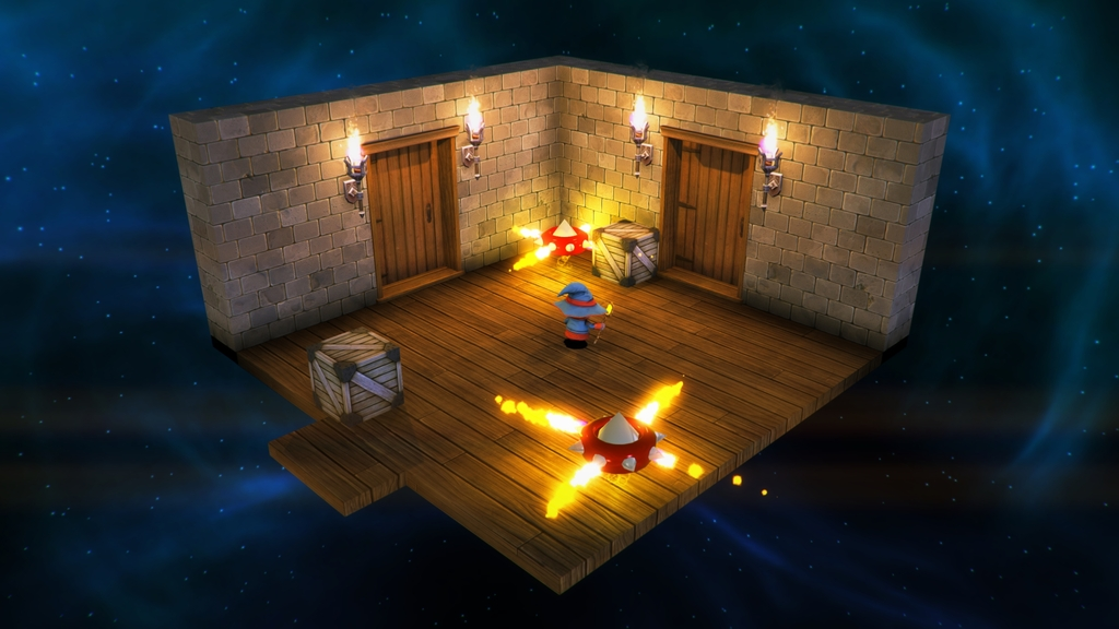 If it has sharp edges and spews fire, it's probably something to avoid in Lumo.
