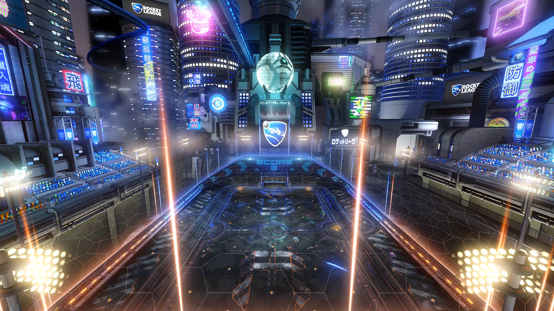Rocket League Neotokyo_environment_20160610