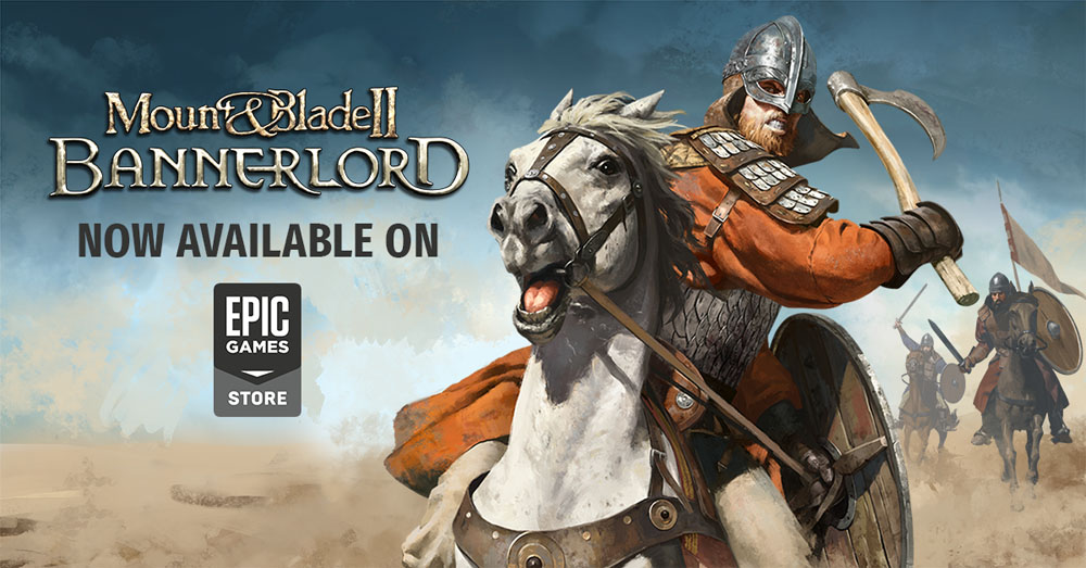 Mount Blade Ii Bannerlord Releases On The Epic Games Store Game Chronicles