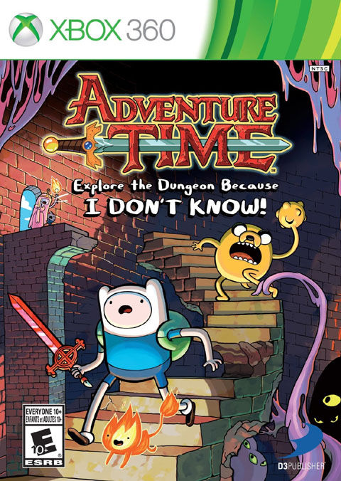 Adventure Time: Explore the Dungeon Because I DON'T KNOW! Review – Xbox 360