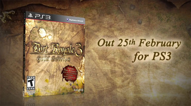 Land Ahoy! Port Royale 3 Gold Edition Sets Sail in North America This February