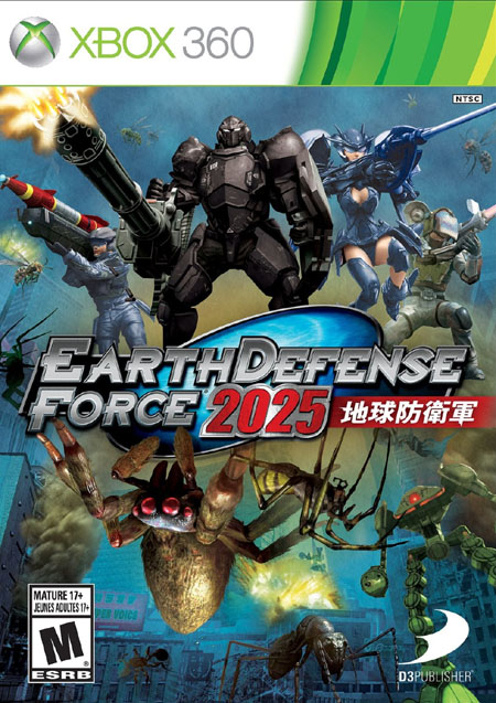 Earth Defense Force 2025 Review – Xbox 360