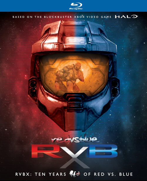 Red vs. Blue: RVBX: Ten Years of Red vs. Blue Blu-ray Review