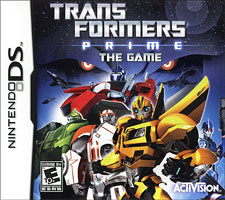 Transformers Prime: The Game Review – DS