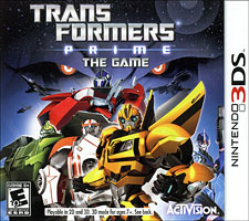 Transformers Prime: The Game Review – 3DS