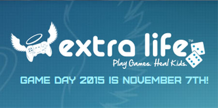 Support our very own Michael Murphy in This Year's Chibi Comics Extra Life 2015