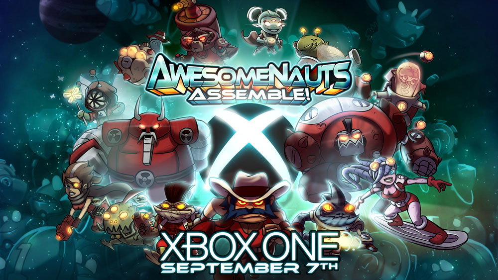 Awesomenauts Assemble! Coming to Xbox One on September 7