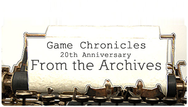 The Future and Fate of Game Chronicles Magazine