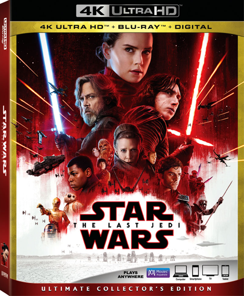 Star Wars: Episode VIII – The Last Jedi Ultimate Collector's Edition 4K Blu-ray Review
