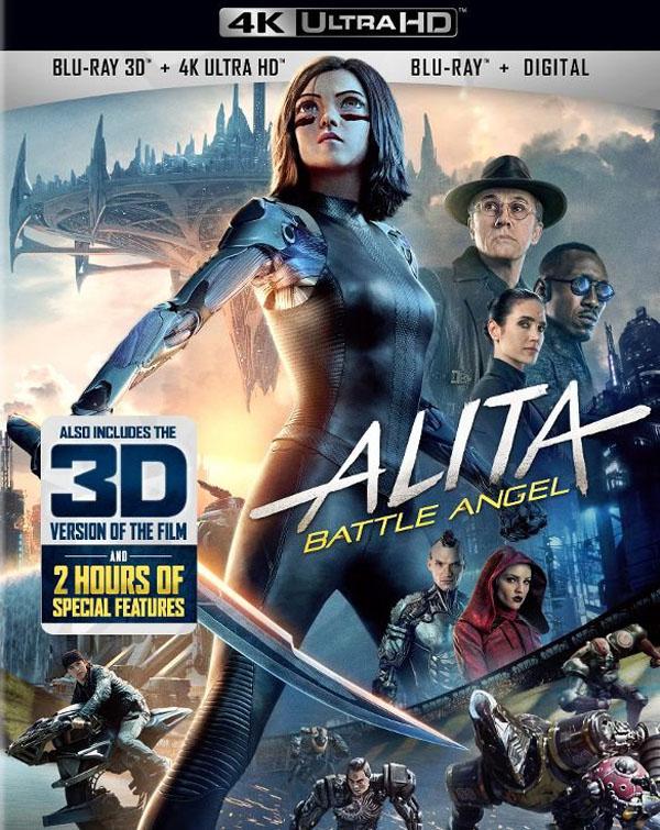 Alita: Battle Angel 4K/3D Blu-ray Review