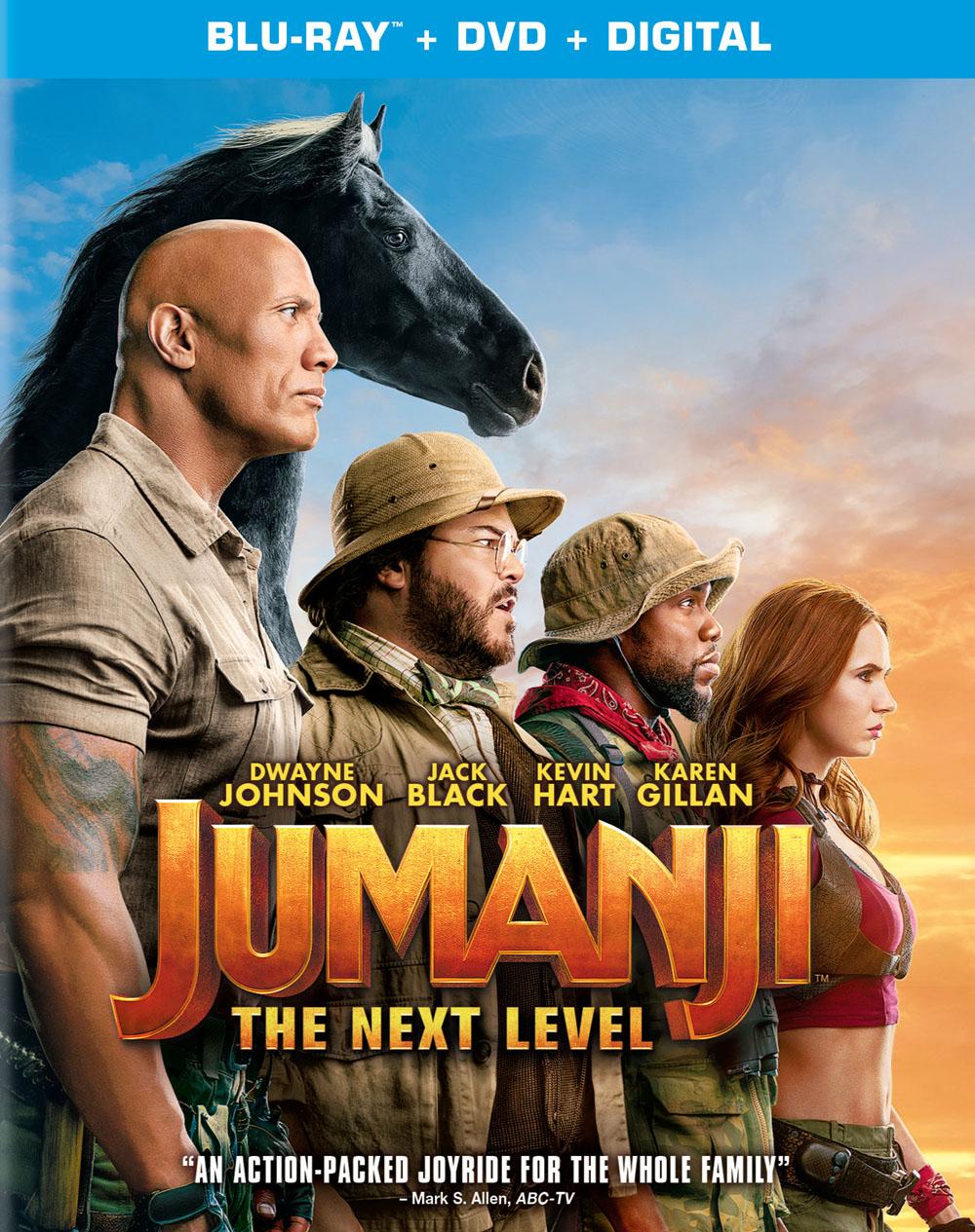 Jumanji: The Next Level Blu-ray Review