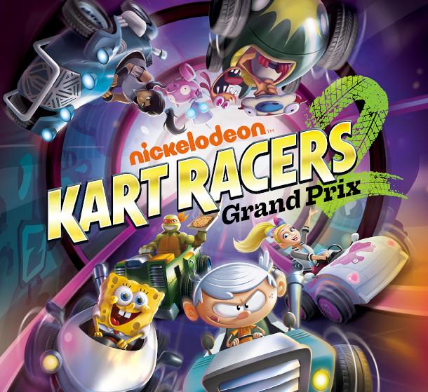 'Nickelodeon Kart Racers 2: Grand Prix,' Coming Oct. 2020
