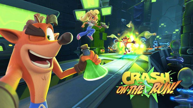 Crash Bandicoot: On the Run! Spins onto Mobile Spring 2021
