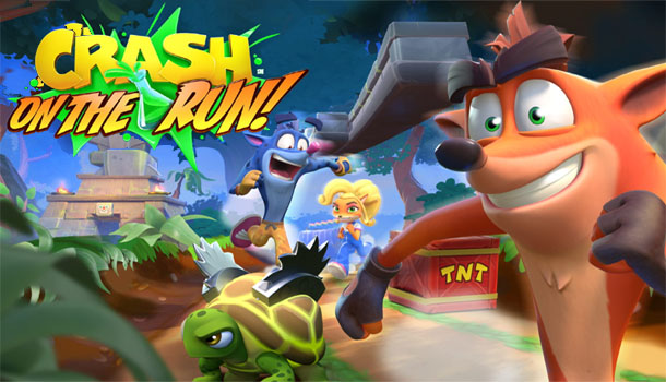 Crash Bandicoot: On the Run! Set To Launch Worldwide On Mobile March 25th