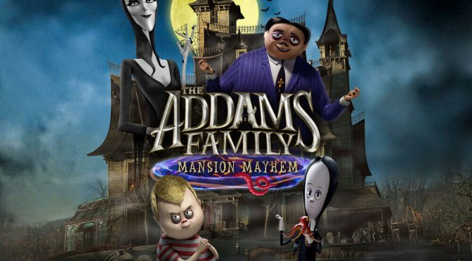 The Addams Family: Mansion Mayhem is Available Now