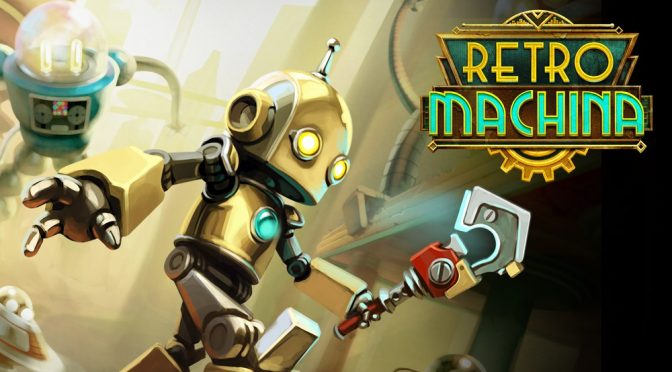 Charming Futurism Puzzler Retro Machina Available Now on All Major Platforms