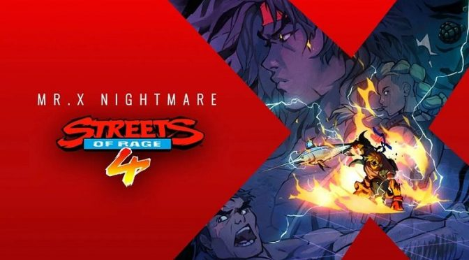Streets of Rage 4's Free Update, Mr. X Nightmare DLC Now Available on PC and Consoles