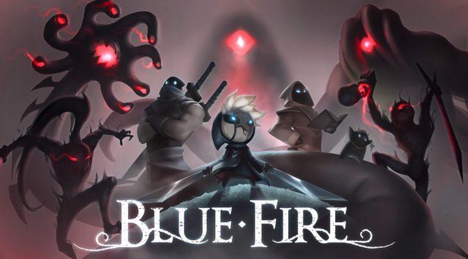 Grab 3D Platformer Blue Fire TODAY on PS4