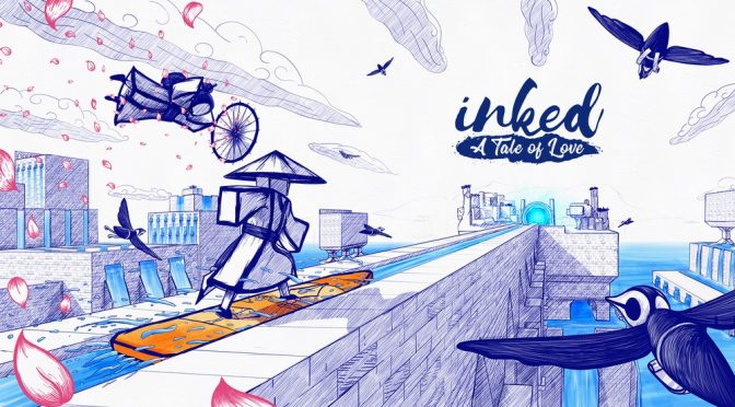BALLPOINT PEN DRAWN PUZZLE ADVENTURE INKED: A TALE OF LOVE COMES TO CONSOLES