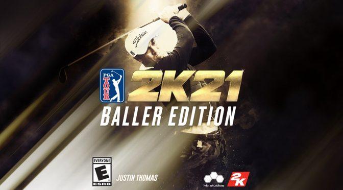 PGA TOUR® 2K21 Baller Edition Teeing Off this October